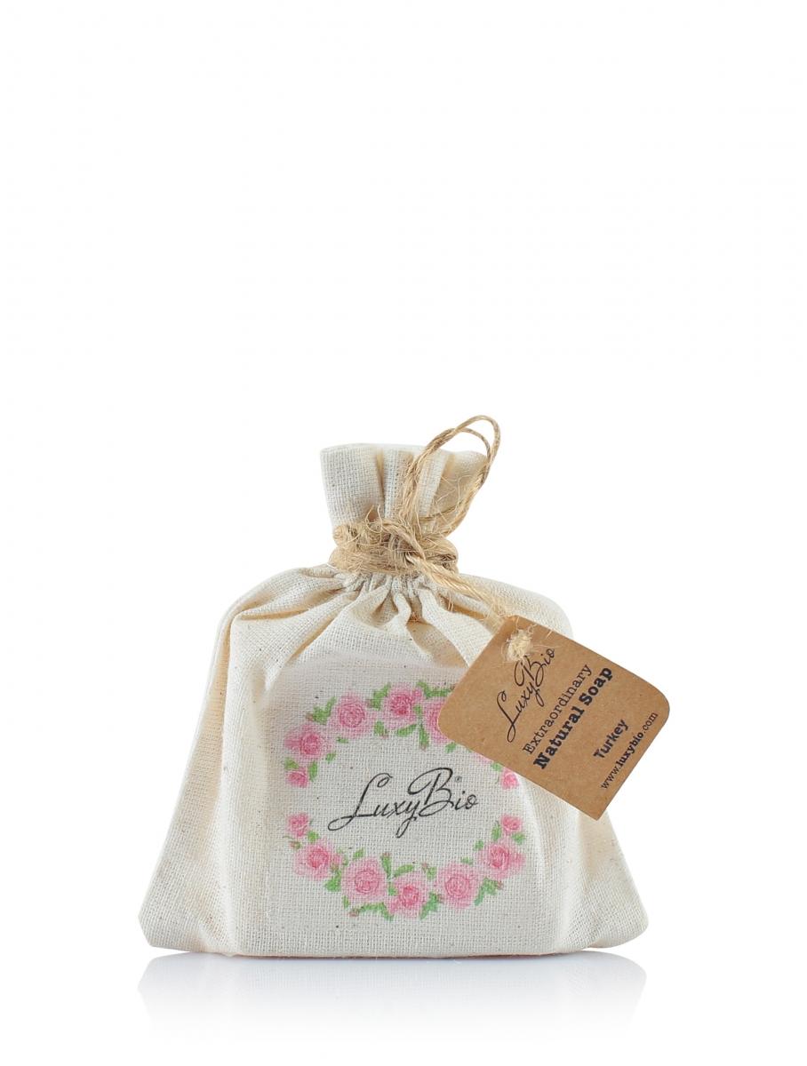 Luxy Bio - Doğal Gül Cilt Bakım Sabunu 100 gr