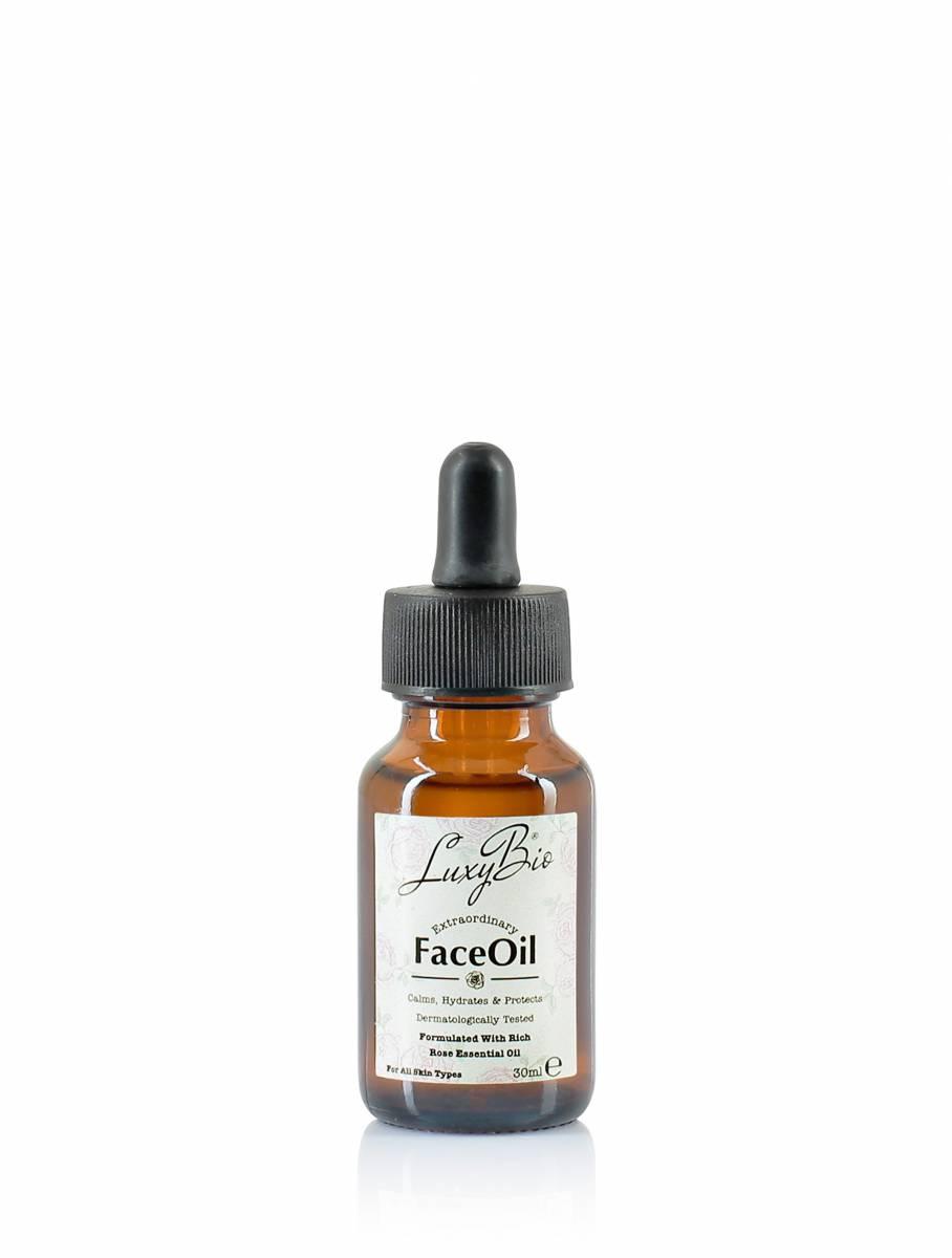 Doğal Gül Yüz Yağı 30 ml