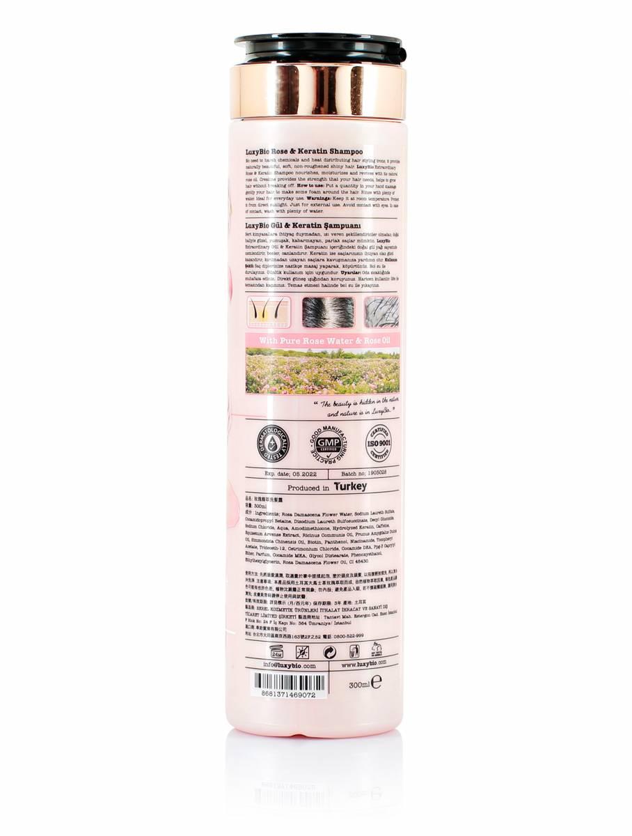 Gül & Keratin Şampuanı 300 ml