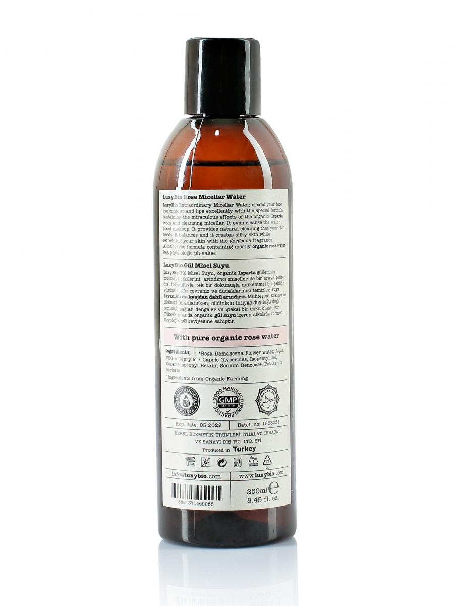 Doğal Mineralli Gül Misel Su 250 ml - Thumbnail