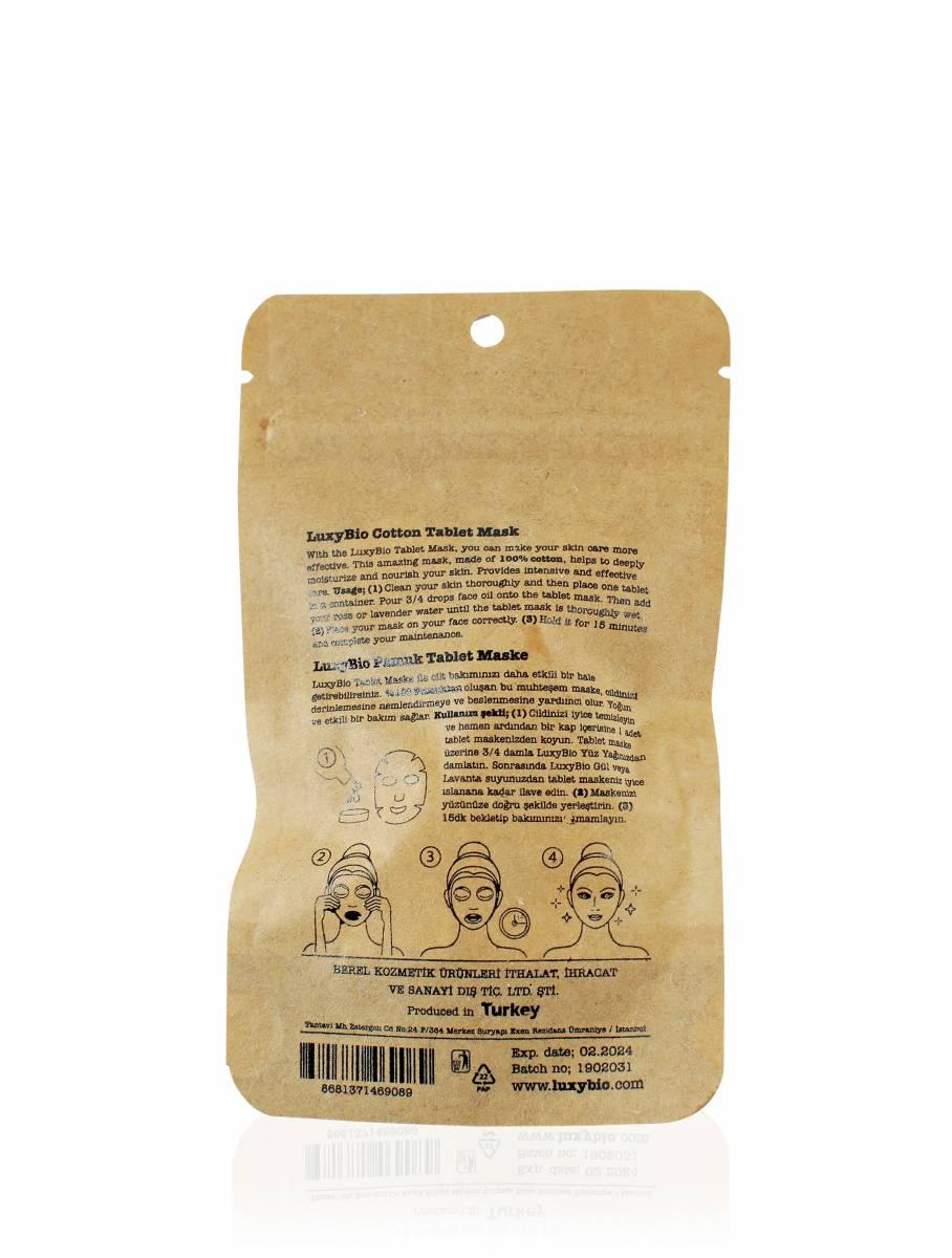 Tablet Yüz Maskesi 12 Adet